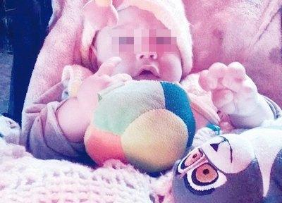 Pandemia separó a una mamá de su bebé