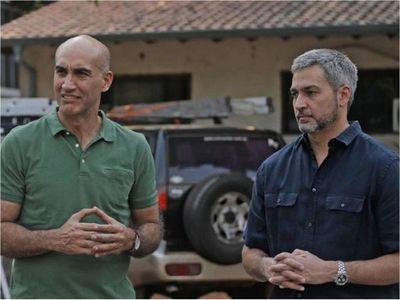 Villamayor admite que hay un    sondeo que posiciona  a Mazzoleni
