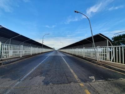 Puente seria ABIERTO recién en DICIEMBRE y COMERCIO de CDE DESAPARECERIA