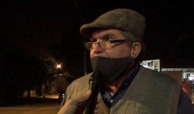 Santiago Misiones; defendieron a Ignacio ''Varón'' Larré quien estuvo furioso y amenazante
