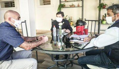 Abdo Benítez, Mazzoleni y Acevedo evalúan la cuarentena inteligente
