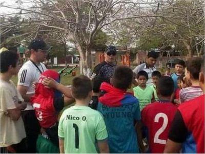 Escuela de Fútbol Municipal de Pilar se alista para las prácticas