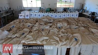 DOCENTES PRODUCEN HIDROALCOHOL PARA DONAR A CENTROS ASISTENCIALES