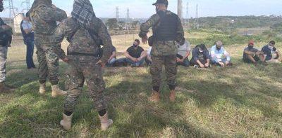 Nueve detenidos por ingresar de forma ilegal, seis son extranjeros