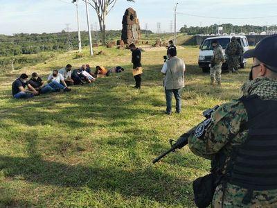 Nueve aprehendidos por ingresar de forma ilegal al país