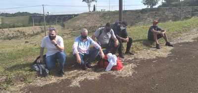 Nueve personas fueron detenidas tras ingresar ilegalmente a nuestro país