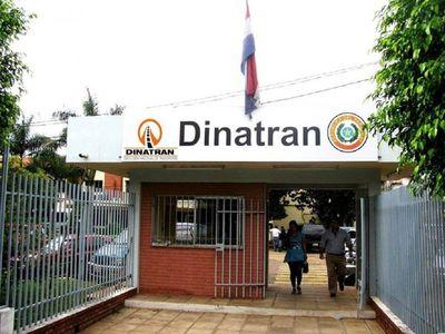 Dos funcionarios de la Dinatrán dan positivo al Covid-19