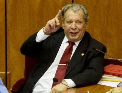 Hospitalizan al senador Juan Carlos Galaverna