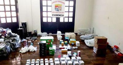 Sigue incesante contrabando en zona fronteriza con Brasil