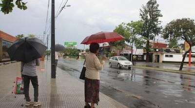 Descenso de temperatura y lluvias para este domingo