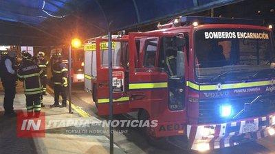BOMBEROS REMARCAN DESCENSO DE SERVICIOS POR ACCIDENTES