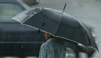Jornada lluviosa con descenso de la temperatura.