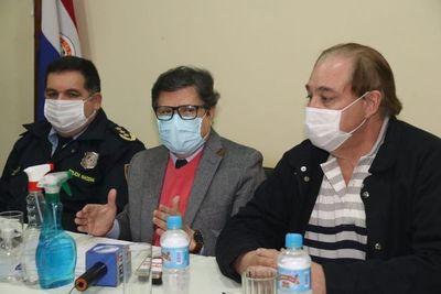 Ministro del Interior visita CDE y anuncia mayor control en la frontera
