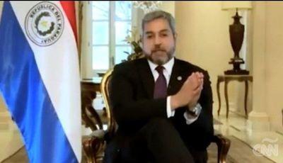 Abdo Benítez en CNN: Prioridad fue tener posibilidad de control en las actividades permitidas