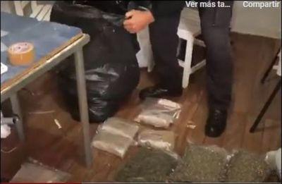 Caen más de 50 kilos de cocaína y casi 30 de skank  en Ponta Porã
