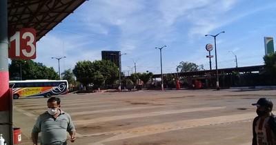 Piden aplicar protocolo sanitario a buses que ingresan a Coronel Oviedo