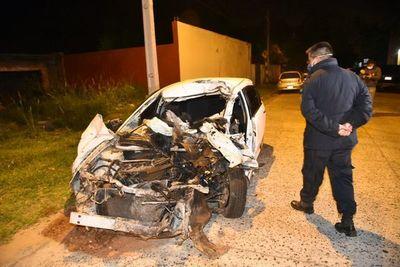 Conductor perdió la vida tras choque frontal con camión en Villeta