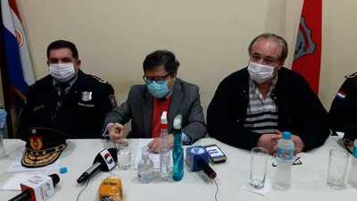 Durante visita relámpago, Euclides Acevedo anunció protocolo sanitario para camioneros