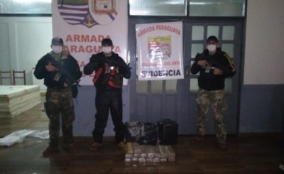 Incautan más de 60 kg de marihuana durante recorrida en el Paraná