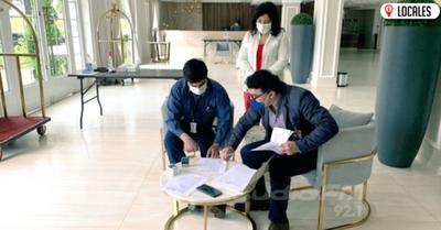 Continúa verificación de establecimientos que podrían sumarse a proyecto «Hotel Salud»