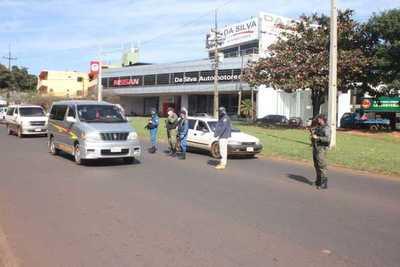 """Policía del Alto Paraná refuerza capacidad operativa con 150 agentes tácticos para control de """"Toque de queda"""""""