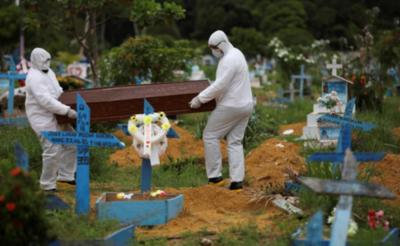 Brasil orilla los 30 mil muertos