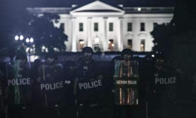 La Casa Blanca apaga sus luces, en medio de protestas por la muerte de George Floyd