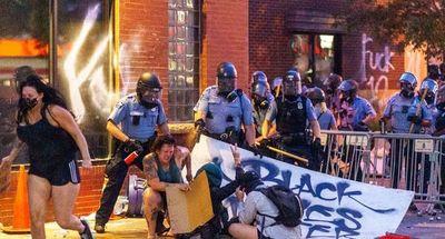 La acción impuesta en varias ciudades de EEUU, tras los incidentes en manifestaciones