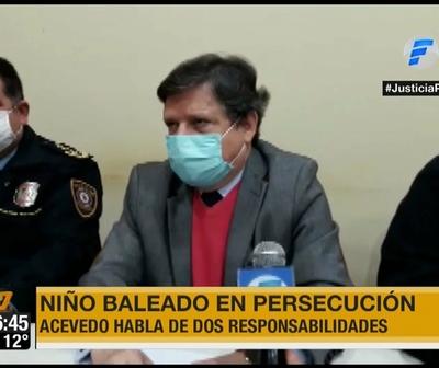 Euclides Acevedo: ''Los policías no tienen licencia para matar''