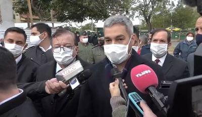 """CUARENTENA POR TERRITORIO SE HARÁ """"SI ES NECESARIO"""", ASEGURA ABDO BENÍTEZ"""