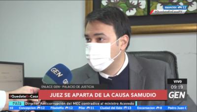 HOY / El juez Rolando Duarte se inhibió de la causa de la ex titular de Petropar, Patricia Samudio, por amistad con unos de los Imputados
