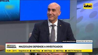 Mazzoleni defiende a investigados