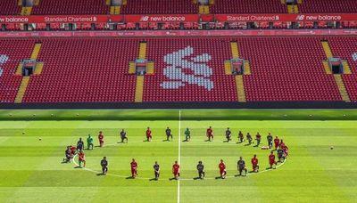 Liverpool, el homenaje a George Floyd y el mensaje contra el racismo