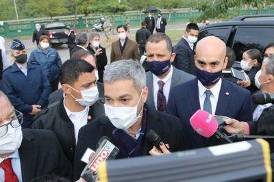 Mario Abdo anuncia posibles avances y retrocesos en cuarentena por región