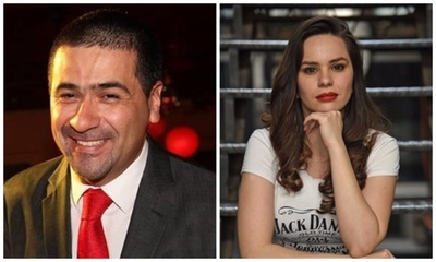 Roberto Pérez trató de feminazi a su compañera ¡En Vivo!