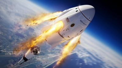 La NASA y SpaceX abren una nueva era espacial: Crew Dragon se acopla con éxito a la Estación Espacial Internacional