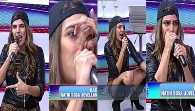 """Nati Sosa Jovellanos se apoderó de """"Noche de Show"""""""