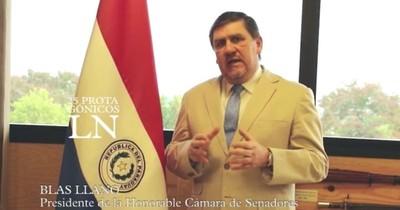 """Blas Llano: """"Racionalizar el gasto público y dirigirlo a salud, educación y seguridad"""""""