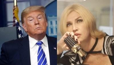 """Critican a Milva por defender a Donald Trump: """"Nos ayuda a luchar en momentos difíciles"""""""