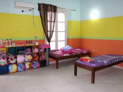 Habilitan refugio de niños, niñas y adolescentes para días de frío