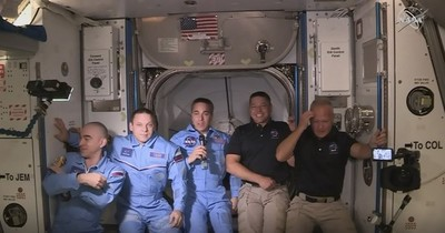 Histórica misión: Astronautas de SpaceX abordaron Estación Espacial