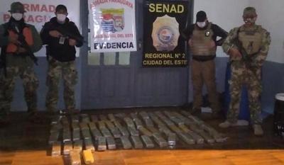 SENAD incautó carga de marihuana durante patrulla nocturna en río Paraná – Diario TNPRESS