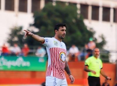 """Salgueiro: """"Es lindo jugar de local en San Lorenzo"""""""