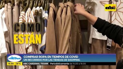 Comprar ropa en tiempos de Covid