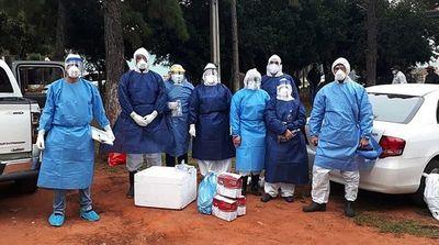 Aumentan casos de covid-19 en San Roque González