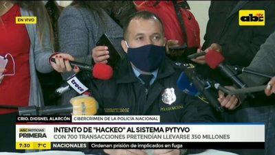 """Los G. 350 millones """"hackeados"""" se recuperaron, afirman"""