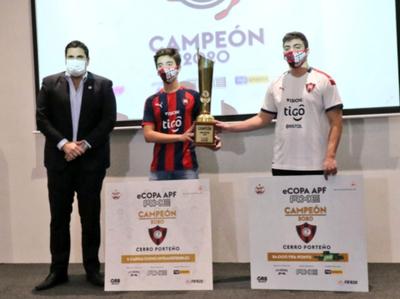 Las palabras de los campeones de la eCopa APF