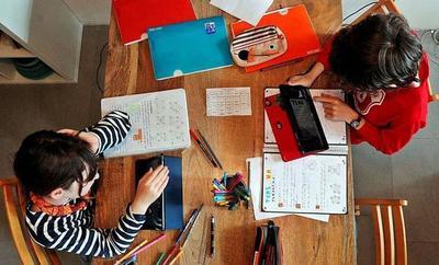 Materiales educativos para que niños sigan aprendiendo desde sus casas