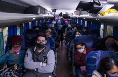 43 connacionales cumplieron la cuarentena y retornan a sus hogares