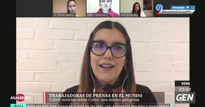 Periodistas paraguayas hablaron sobre vicisitudes de los sistemas de salud